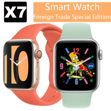 Reloj inteligente X7 para hombre y mujer, reloj deportivo inteligente a la moda, con cambio de papel tapiz, Bluetooth, llamadas, música, pulsómetro, Fitness
