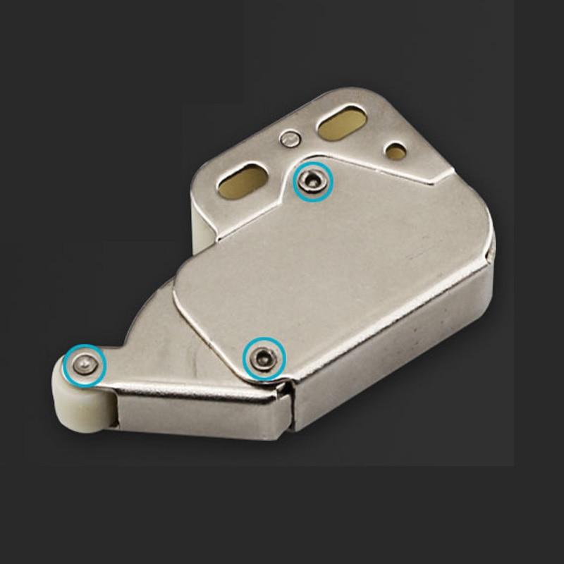 4 stücke Schrank Lock Mini Druck Verschluss Möbel Tür Sicherheit Zubehör Teil
