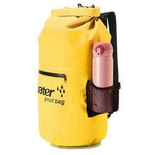 Wasserdichte Tasche Roll Top Rucksack Für Wandern Dry Bag Outdoor Tauchen Faltbare Strand Schwimmen Sack Rafting Fluss Ozean pack Packsack