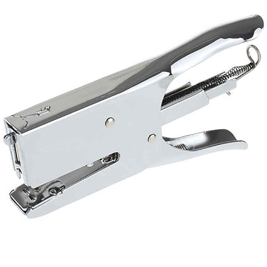 Durable Plier Stapler Paper Binding Machine Heavy Metal Handheld Stapler Books Stapling School Stationery Office Supplies