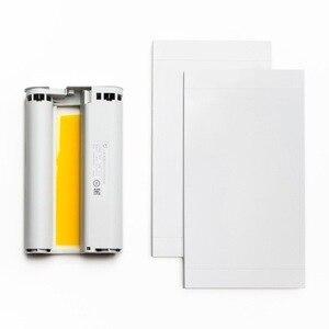 Image 3 - Xiaomi Foto Printer Papier Set Warmte Sublimatie Fijn Herstellen Ware Kleur Auto Meerdere Draadloze Afstandsbediening Draagbare Printer