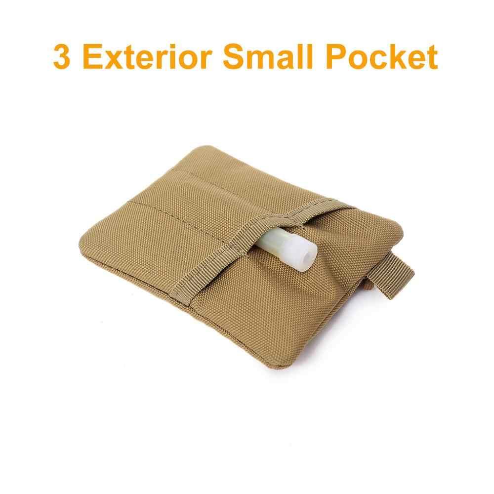 التكتيكية حقيبة المحفظة 1000D بطاقة مفتاح حامل المحمولة محفظة الحقيبة المال حزمة متعددة الوظائف ملحق جيب للصيد التخييم