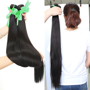 Image 3 - Straight 8 34 36 38 40Inch Braziliaans Haar Weave Bundels Remy Haar 100% Human Hair Extension Lange Volledige haar