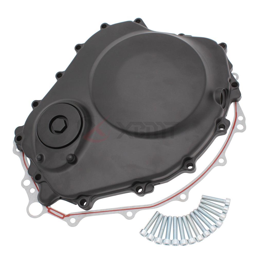 Black Custom Cluctch Engine Cover For 2004-2007 Honda CBR 1000RR w// gasket