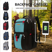 Nylon Zipper Sports Backpack Tote Travel Bag Business Women Backpack for Luggage Gym for Outdoor Handbag