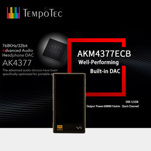 Image 5 - MP3 Player TempoTec V1 A Variations HIFI PCM&DSD 256 Support Bluetooth LDAC AAC APTX IN&OUT USB DAC For PC With ASIO AK4377ECB