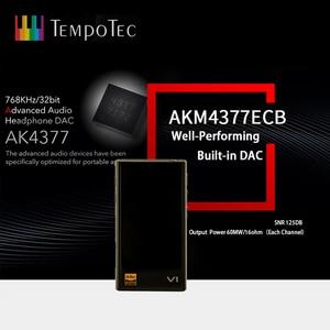 Image 5 - MP3 נגן TempoTec V1 A וריאציות HIFI PCM & DSD 256 תמיכה Bluetooth LDAC AAC APTX ובהחוצה USB DAC עבור PC עם ASIO AK4377ECB