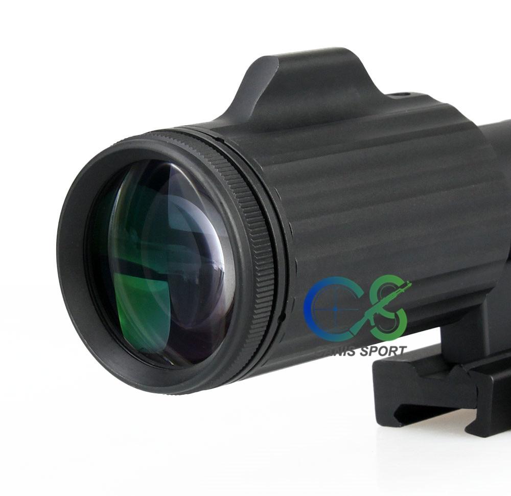 Ffp 1-6x24 cruz concêntrico rifle caça riflescope