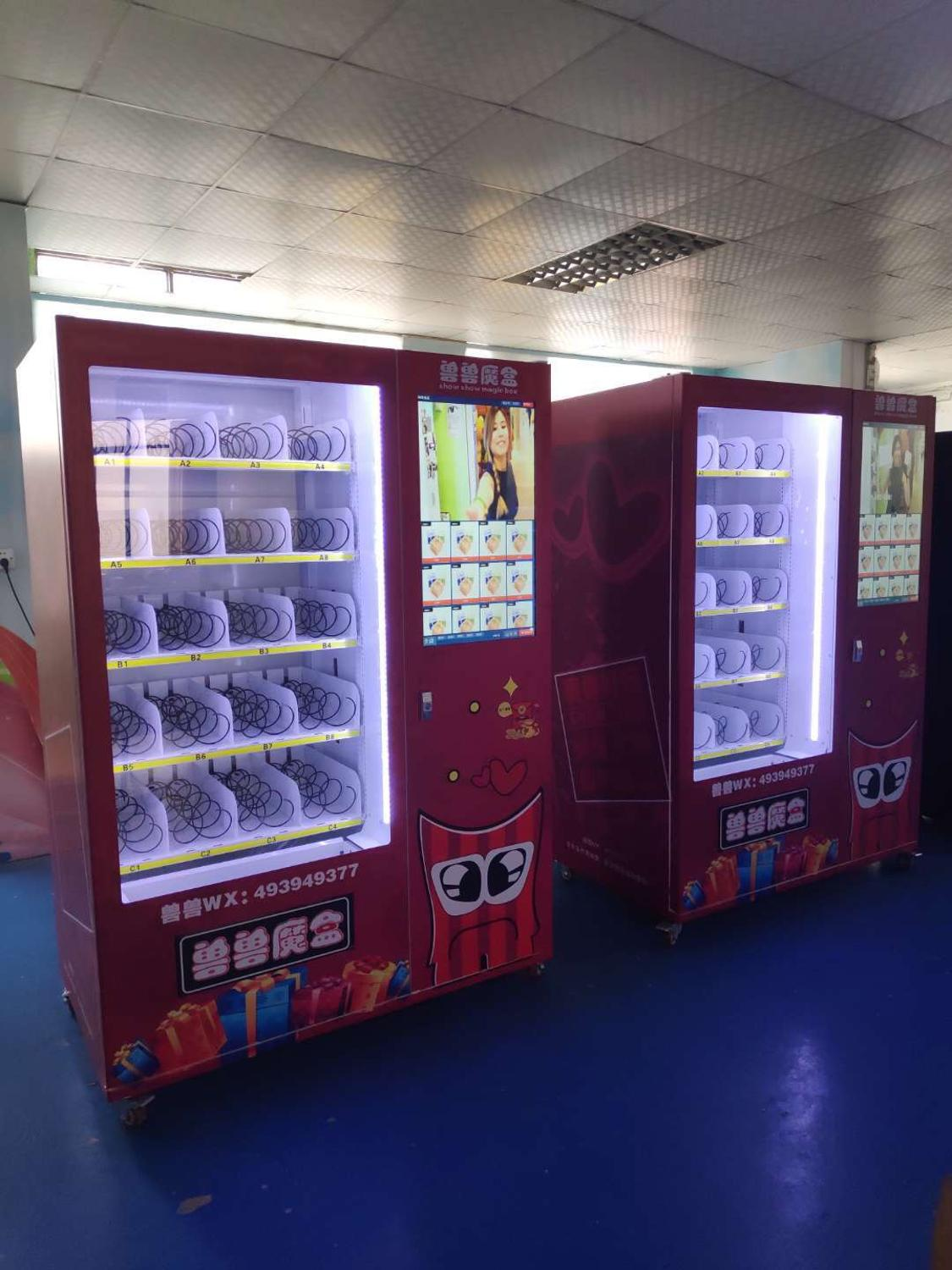Smart 24 Hours Self-service Automatic Milk Food Snack Drink Vending Kiosk