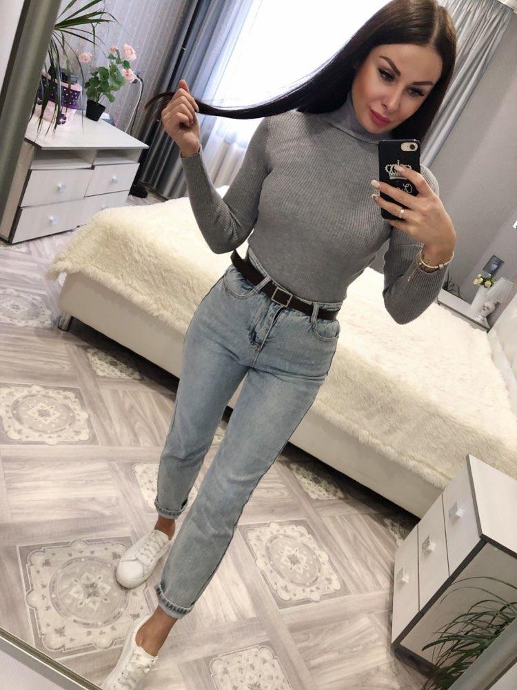 Women's Elegant Turtleneck Pullover Sweater