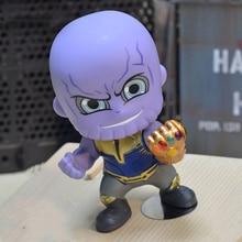 Avengers Endgame Titan Thanos Ironman Spiderman Hulkbuster Black Panther Groot PVC Action Figures Model