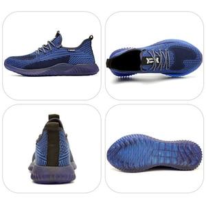 Image 5 - Chaussures de sécurité à bout en acier, chaussures Ryder indestructibles, pour hommes et femmes, bottes de sécurité à Air, baskets de travail aérées et anti perforation