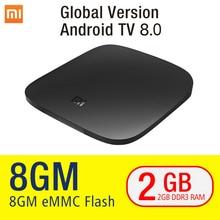 Xiaomi MI Box 3 Android 8.1 BT TV Receiver 2G+8G Support BT Dual-Band WIFI Netflix Google Player Android 8.1 Xiaomi MI Box 4K