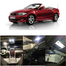 Iluminación LED interior completa para BMW 1er E88 Cabrio, iluminación de lectura, luces traseras, sin errores, 11 Uds.