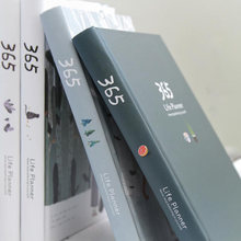 Дневник a6 простой и свежий блокнот офисные аксессуары 365 планировщик