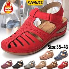 Orthopedic Sandals Platform Beach-Shoes Premium Ladies Wedge Female Women Corrector Bunion
