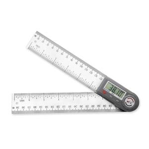 Image 3 - 200 Mm 7 Kỹ Thuật Số Gonionmeter Thép Không Gỉ Góc Thước Tìm Kỹ Thuật Số Protractor Inclinometer Thước Đo Góc Dụng Cụ Đo