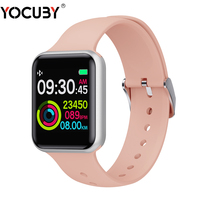Bluetooth Smart Watch Women Square Screen Long Standby Blood Pressure Weather Forecast SN72 Smart Watch Men for IPhone 11 Xiaomi