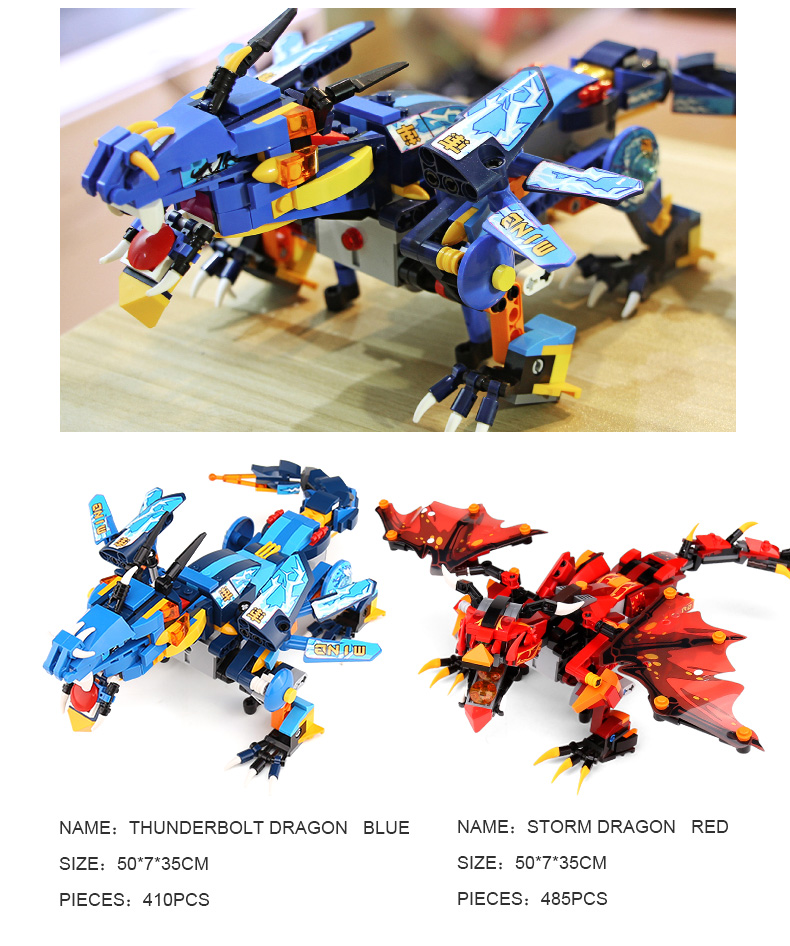 MOULD KING 13018 Compatible 70602 RC Technic Ninjaoes Dragon Knight Building Block 10