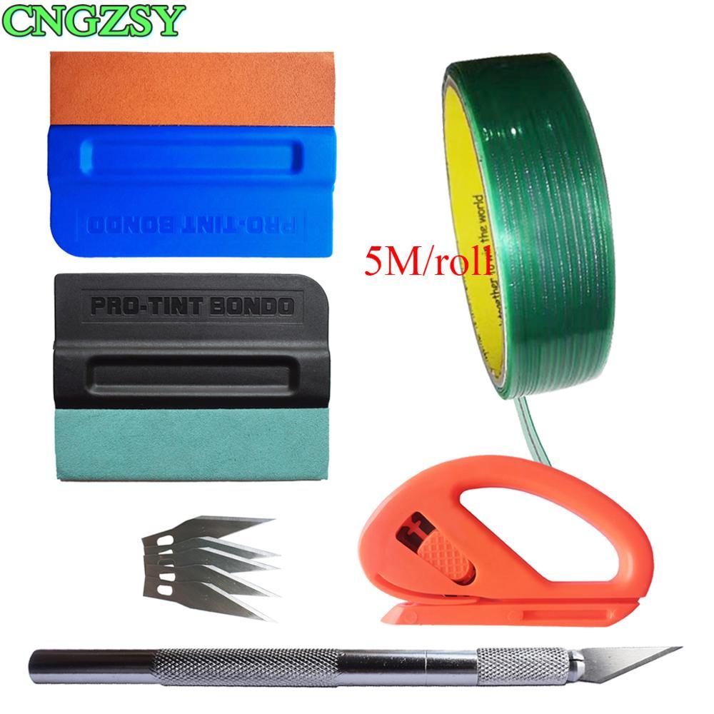 Knifeless Tape Design Line Finish Line Vinyl Warp Cutting Tape Vinyl Wrap Application Tool Kit Window Film Tint Tools Set K113