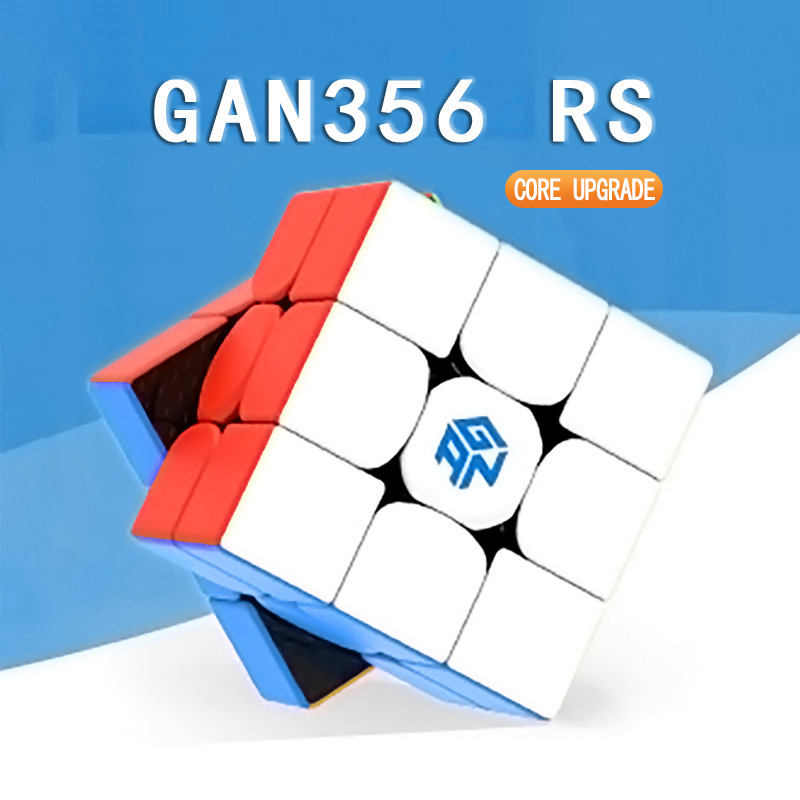 Original GAN 356rs 3x3 Speed Cube Professional Magico Cubo 356r Toys For Children