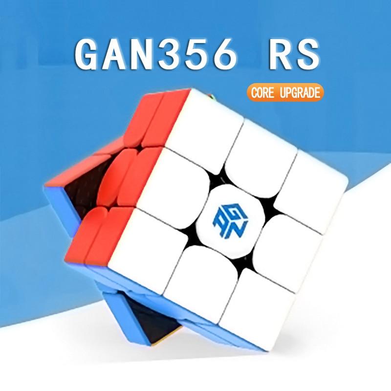 Original GAN 356rs 3x3 Speed Cube Professional Magico Cubo 356r Toys For Children