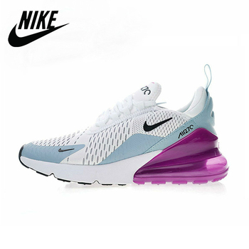 Original Authentic NIKE Air Max 270 Women's Running Shoes Sport Outdoor Sneakers Comfortable Breathable AH6789-004 original new arrival authentic nike breathable air max motion lw men s running shoes sneakers white blue comfortable
