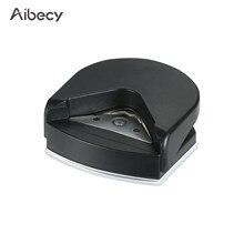 Aibecy mini portátil canto arredondador perfurador canto redondo lightweigh trimmer cortador 4mm para cartão foto carimbos convites