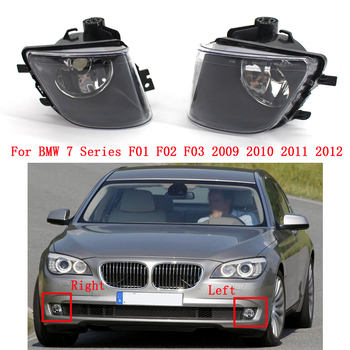 цена на Front Bumper Fog Light Lamp Driving For BMW 7 Series F01 F02 F03 2009 2010 2011 2012 63177182195 63177182196