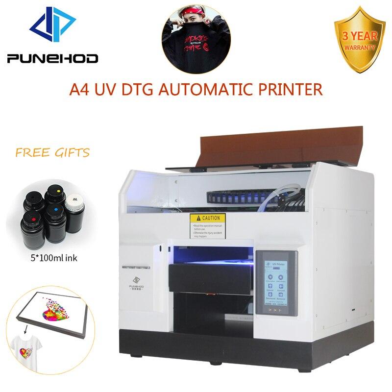 T-shirt imprimante uv numérique eco solvant directement à l'imprimante de vêtement a4 imprimante uv pour tête d'impression epson r330