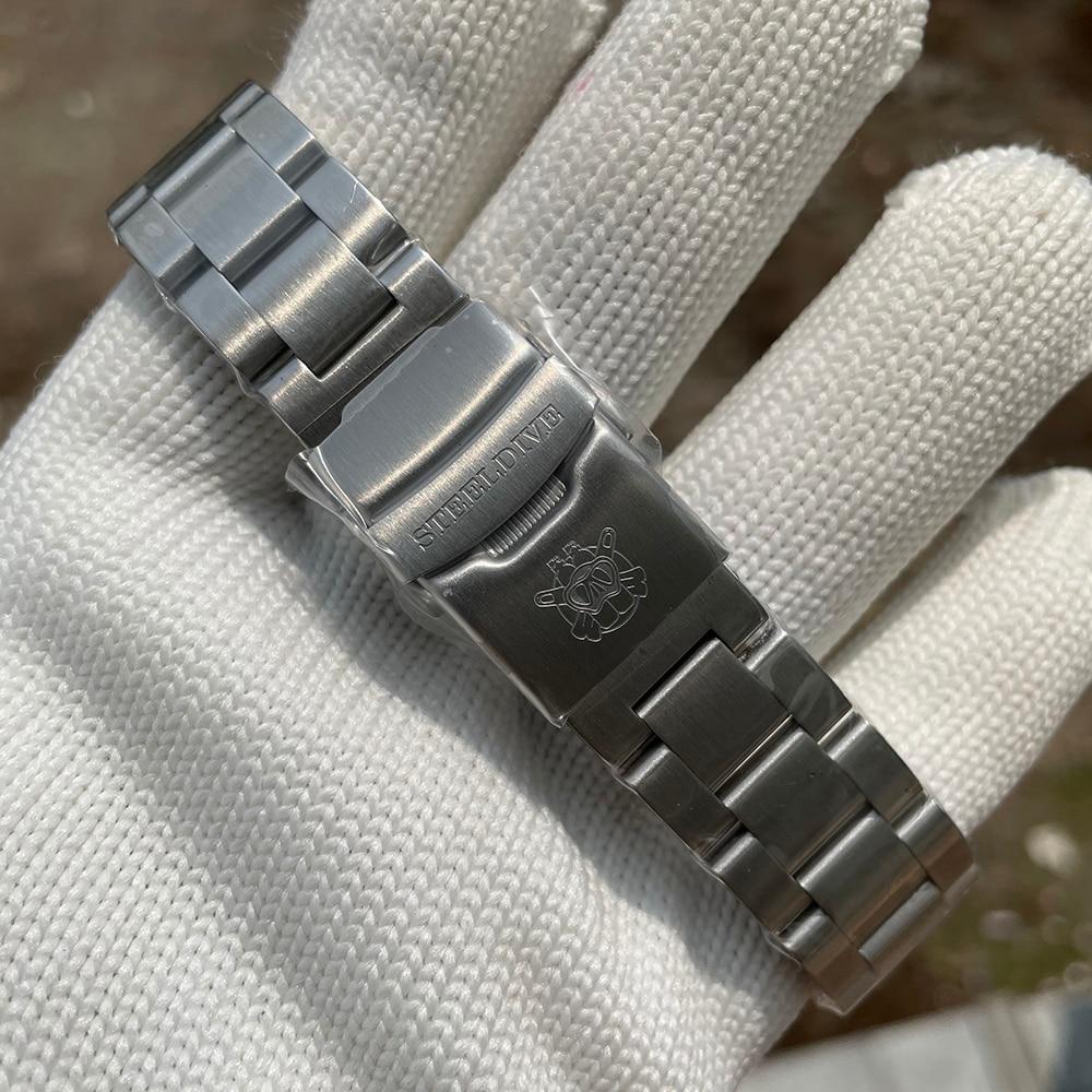 SD1970 Steeldive Brand 44MM Men NH35 Dive Watch with Ceramic Bezel 5