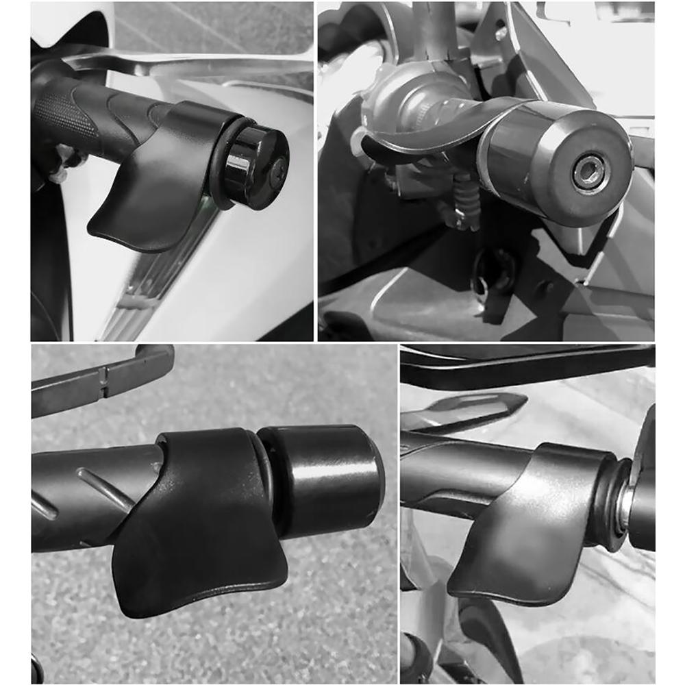 Universal Motorcycle Cruise Assist Hand Rest Throttle Accelerator Control Rocker Grips Universal Fit for 7 8 HandleBar in Protective Gears Accessories from Automobiles Motorcycles