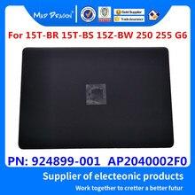 חדש מקורי LCD כריכה אחורית עבור HP 15 BS015DX 15 BS 15T BR 15Q BU 15T BS 15 BW 250 G6 255 G6 TPN C129 TPN C130 924899 001 שחור