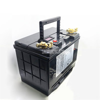 12V 100AH Battery BMS Protection Lithium Iron Phosphate Battery LiFePO4 Low Temperature Resistant Power Supply+14.6V 10A Charger