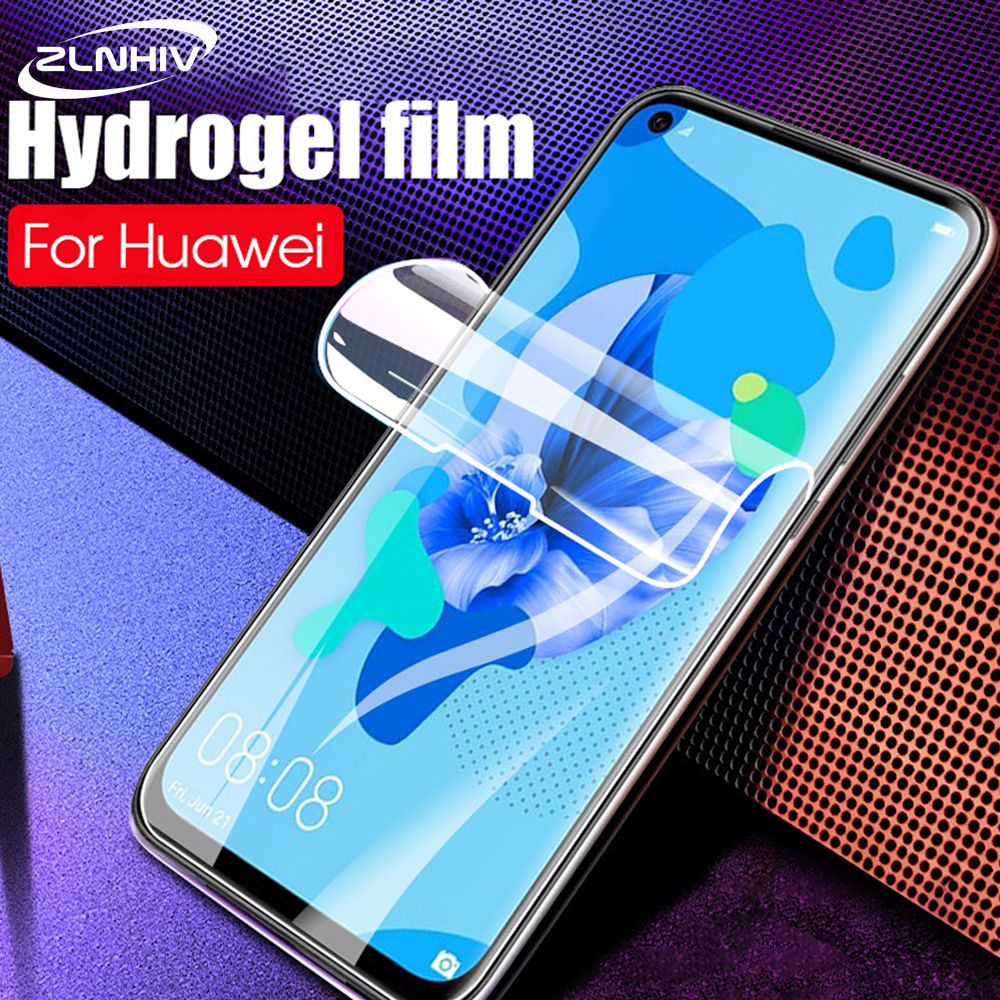 ZLNHIV for <font><b>huawei</b></font> <font><b>p</b></font> <font><b>smart</b></font> Z hydrogel film <font><b>p</b></font> <font><b>smart</b></font> <font><b>2019</b></font> plus 2018 protective film phone screen protector <font><b>smartphone</b></font> Not Glass image