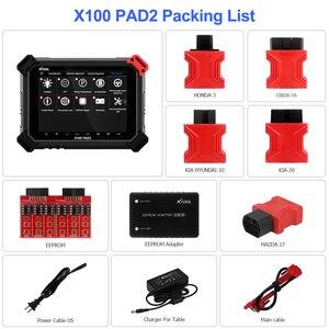 Image 4 - XTOOL X100 PAD2 Pro Pad 2 daha iyi X300 Pro3 DP oto anahtar programcı ile 4th ve 5th Immo için çoğu araba modelleri