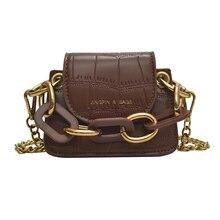 Women Stone Pattern PU Leather Mini Tote Handbags