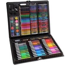 150 цветной набор для рисования Студенческая манга художественные акварельные ручки для кисть для рисования; ручка маркеры для рисования для детей граффити подарок на день рождения
