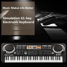 Elektronische Klavier Kind mit Mikrofon Elektronische Orgel für Anfänger Können Spielen Musical Spielzeug Kleine Elektronische Orgel Kinder Spielzeug