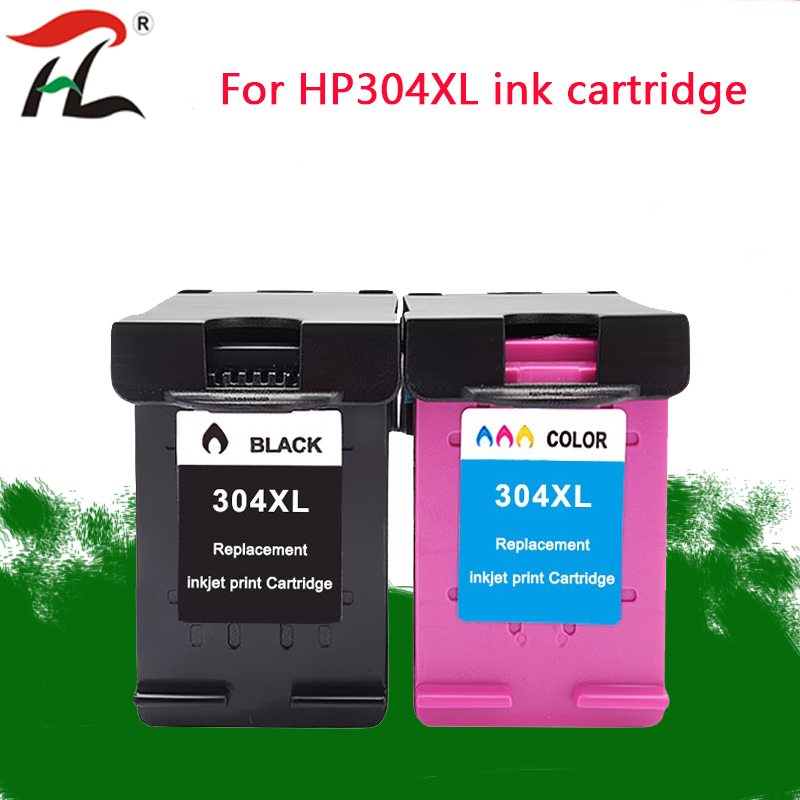 YLC Compatible <font><b>Ink</b></font> <font><b>Cartridge</b></font> 304XL hp304 <font><b>hp</b></font> 304 xl For <font><b>HP</b></font> deskjet envy <font><b>2620</b></font> 2630 2632 5030 5020 5032 3720 3730 5010 printer image