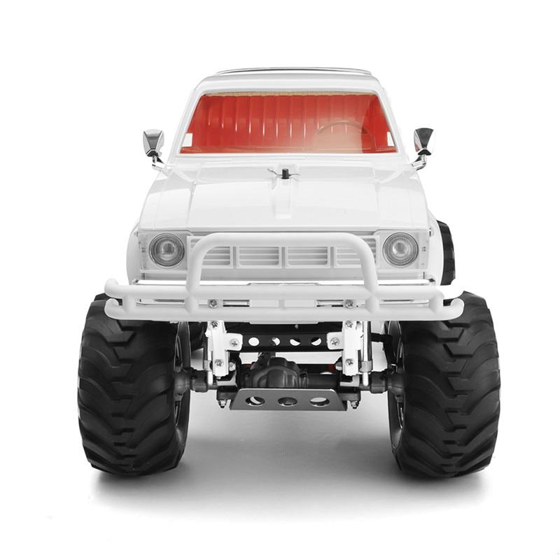 HG P407 RC รถ 2 เปลือกหอย 1/10 2.4G 4WD สำหรับ TOYATO โลหะรถกระบะ 4X4 รถบรรทุก RTR รุ่น DIY สติกเกอร์ของเล่นเด็ก
