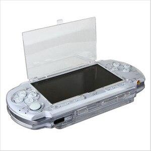 Image 3 - Прозрачный жесткий чехол, защитный чехол для Sony PlayStation Portable PSP 2000 3000, прозрачная защита корпуса консоли