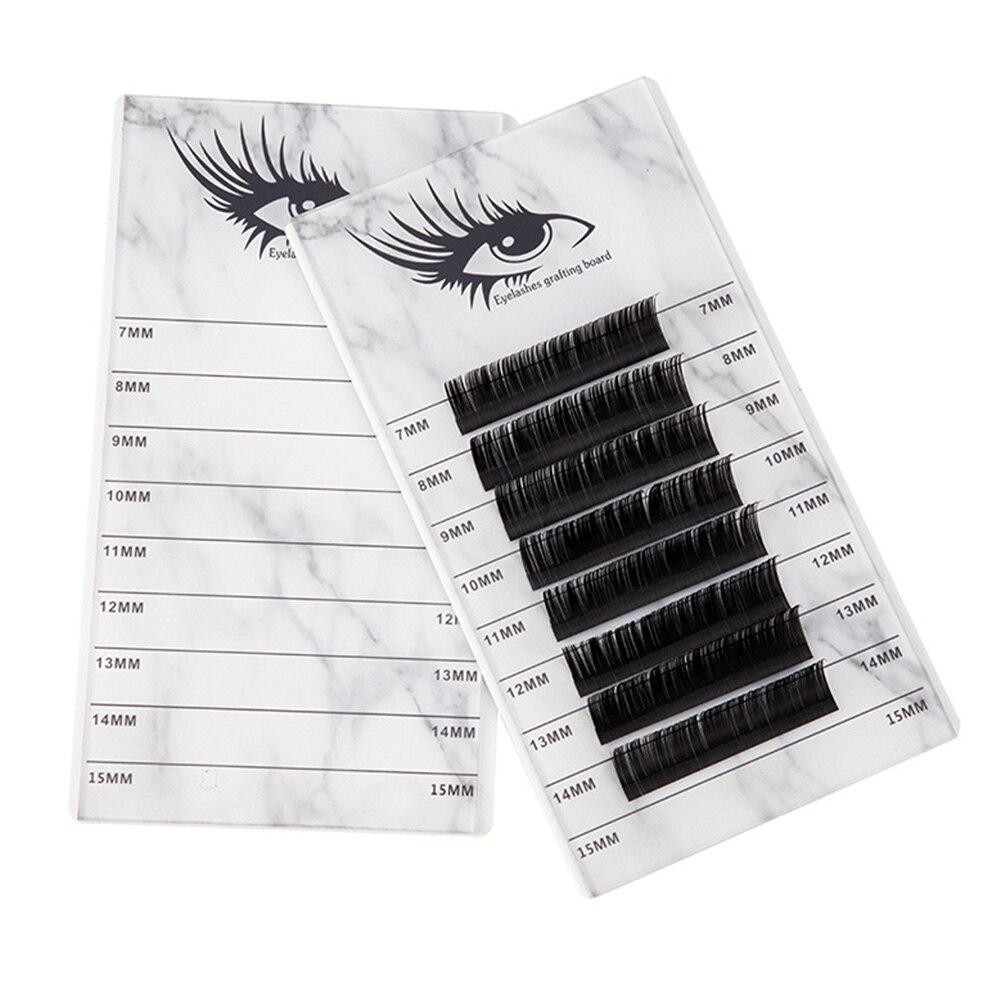 Durable 10 Layers Large Capacity Eyelash Storage Box Pallet Makeup Organizer Tool Marbling Holder Grafting Acrylic Practical