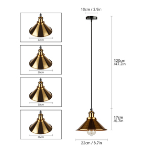 Image 5 - NEW Lndustrial Pendant Light Vintage Chandelier  Hanging Lamp Modern Pendant Ceiling Lamps LED Restaurant Living Room Decoration