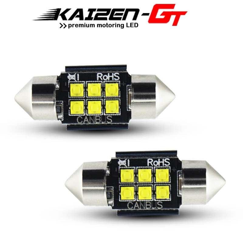 1x Smart Fortwo Bright Xenon White 3SMD LED Canbus Number Plate Light Bulb