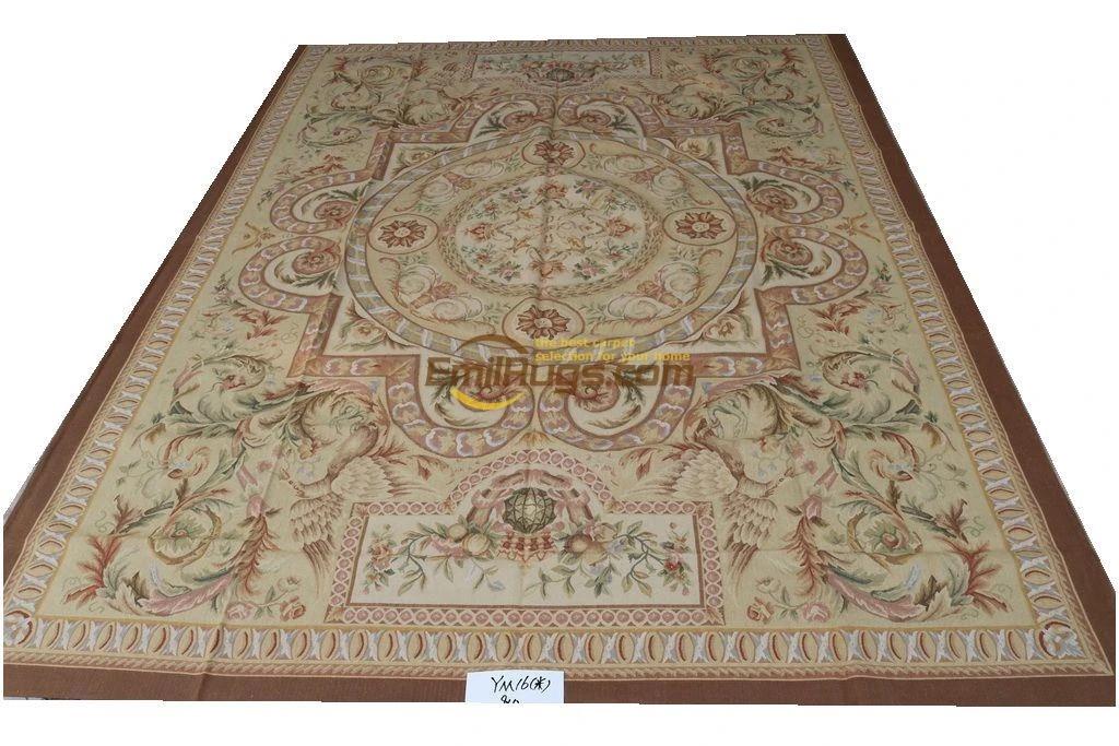 French Aubusson Rugs Living Room Bedside En 274cmx366cm 9 X 12 Ym16gc156aubyg6 Carpet Aliexpress