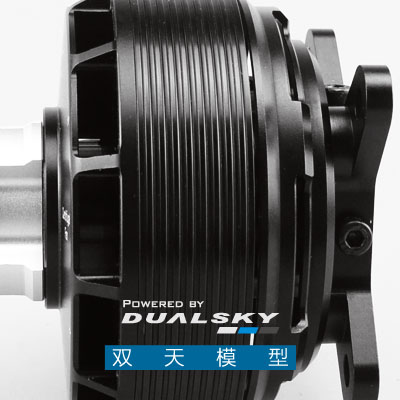 "Image 3 - DUALSKY Brushless מנוע GA4000 V2 גבוהה כוח קבוע כנף דגם מל""ט מחליף 35 40cc בנזין מנועחלקים ואביזרים   -"