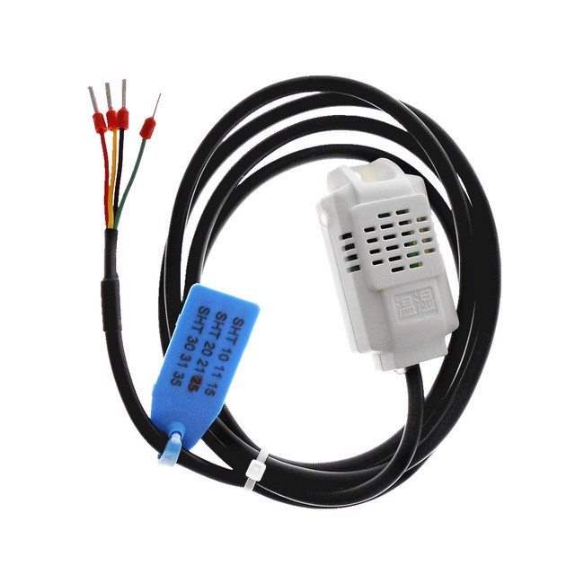 OEM lunghezza SHT10 SHT11 SHT15 SHT20 SHT21 SHT25 uscita Digitale di temperatura e sensore di umidità I2C
