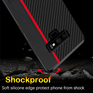 Image 5 - For Samsung Note 9 10 Plus 20 Ultra Case Carbon Fiber Protection Case For Samsung Galaxy S20 S8 S9 S10 5G Plus S10e A51 A71 Case