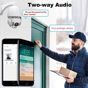 Image 2 - 5MP Wireless WiFi Security กล้อง 1080P HD 30X Optical Zoom PTZ IP กล้องกลางแจ้ง Home Security กล้องวงจรปิด CCTV CAM